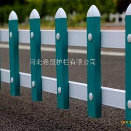 甘肃兰州PVC草坪护栏武威塑钢草坪围栏定西PVC护栏厂家