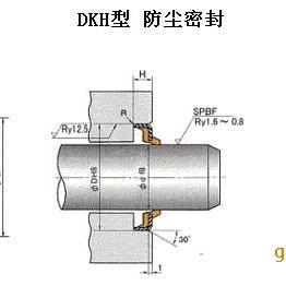 日本NOK产DKD型液压缸防尘密封