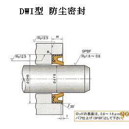 日本NOK产DWI型液压缸防尘密封