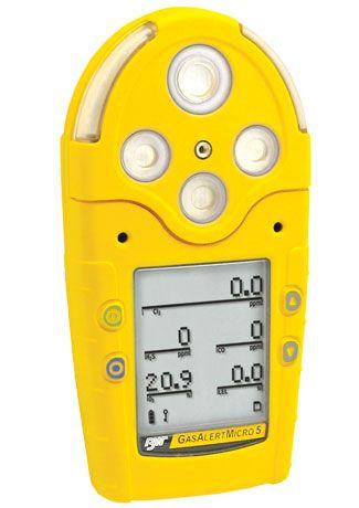 GasAlertMicro 5 五合一气体检测仪