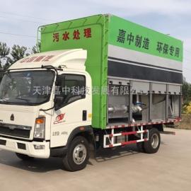 天津嘉中科技新型移动式化粪池处理车价格