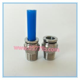 金汉气动 PC8-02 不锈钢304气管连接 气动快插接头