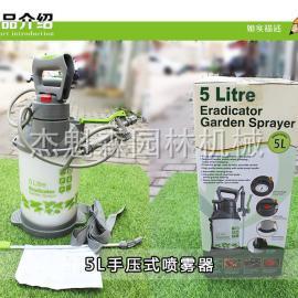 手压式5L打药机 进口喷雾器 带压力表喷雾器
