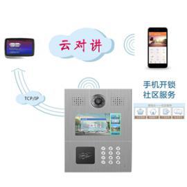 手机app门禁 可视对讲门铃小区可视门禁单元出入楼宇对讲机