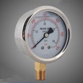轴向耐震压力表,河北数显压力表