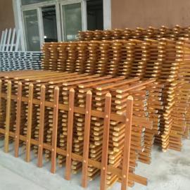 丹阳PVC护栏抢手|丹阳40公分草坪护栏|木纹色绿化带护栏