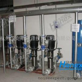 水泵噪音处理