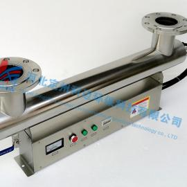 厂家直销10吨紫外线消毒器/DN80紫外线杀菌器/工业养殖水处理设备
