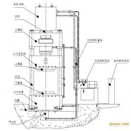 盐城剑龙机械化纤机械生产商 定制液压压力机