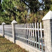 合肥双凤塑钢厂区围栏 合肥空港pvc院墙护栏