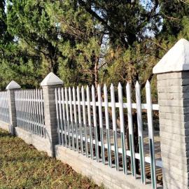 淮安围墙院墙护栏/淮安学校小区院墙护栏/淮安河道围栏栅栏