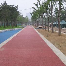 绍兴彩色透水混凝土,杭州艺术压花地坪路面施工