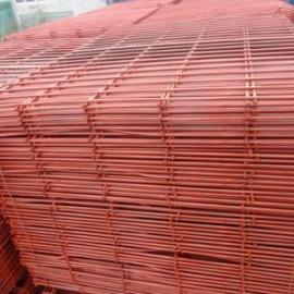 张家港6毫米脚手架焊接钢笆片报价-喷漆钢笆网8折出售