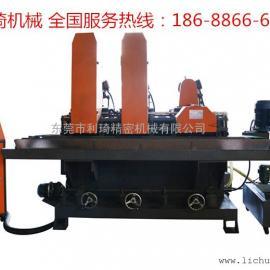二砂一轮输送式水磨自动拉丝机 水磨平面拉丝机 东莞拉丝机