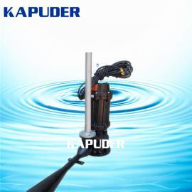 潜水射流曝气机QSB1.5kw 移动式鱼塘曝气增氧设备