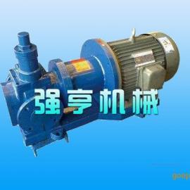 无泄漏磁力圆弧齿轮泵
