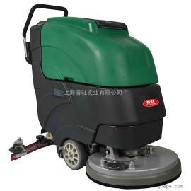 商场超市用手推式洗地机移动式电动洗地机物业保洁用清洗机