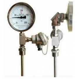 远传型双金属温度计-PT100热电阻-合讯佳业