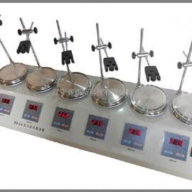 六联磁力加热搅拌器HJ-6