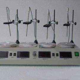 四联数显恒温磁力搅拌器HJ-4A