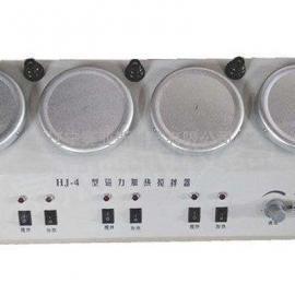 四联磁力加热搅拌器HJ-4