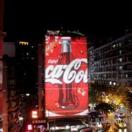 上海星迅PGL5000户外墙体广告投影灯 户外墙体投影广告