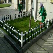 溧阳新农村草坪护栏|溧阳市政园林护栏|溧阳pvc绿化护栏