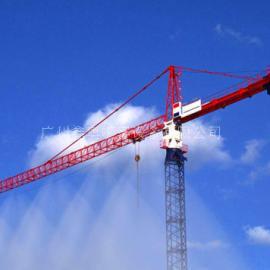 建筑工地塔吊喷雾降尘 施工喷雾除尘系统 高空喷淋除尘设备