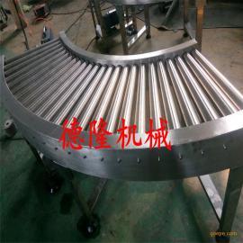 转弯动力滚筒输送机板链流水线桌面工装装配线皮带机