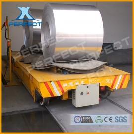 重型平板拖车大吨位牵引拖车转运台车电动地平车