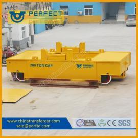 100吨电动搬运车铁水倒包车重型轨道车