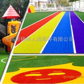 仿真草坪幼儿园足球场阳台楼顶人工 绿色户外婚庆人造地毯草坪