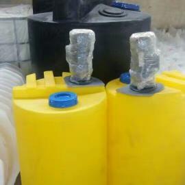 200升PAC溶液储罐200L塑料搅拌罐 化工加厚性价比高