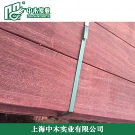 湖南菠萝格防腐木板材