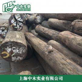 常州马来菠萝格防腐木结构