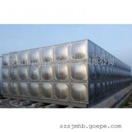 生活水箱:大型水箱制作安�b,�M合拼�b不�P�水箱