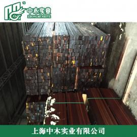 温州菠萝格防腐木木栅栏