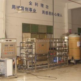 广州TCL产业园2T反渗透+EDI超纯水设备