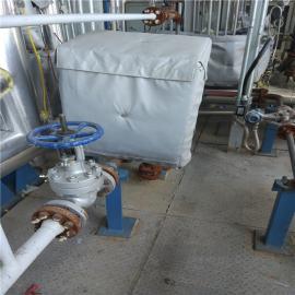 可拆卸阀门保温套 软保温衣 工业保温罩 保温夹套球阀