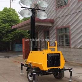 .BT6000G全方位移动照明灯塔,拖式移动照明车