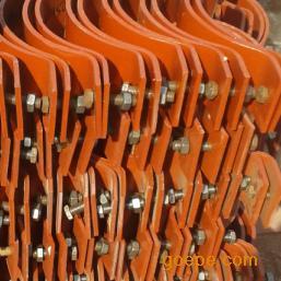 基准型双螺栓管夹-A5基准型双螺栓管夹