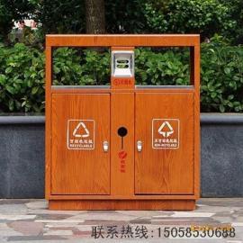 室外环卫方形不锈钢垃圾桶