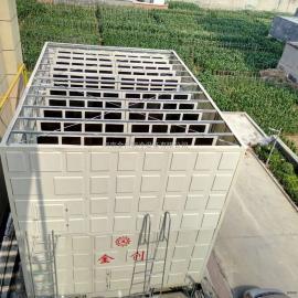 河南金创横流式玻璃钢方型特殊改造冷却塔厂家