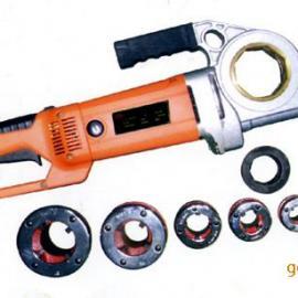 认准鑫隆品牌2寸手持式套丝机带切管功能