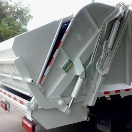 程力钩臂式垃圾车价格_东风后双桥移动压缩垃圾车