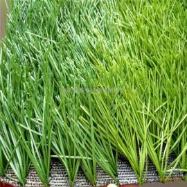 广东挤平单丝足球人造草,直丝运动人工草批发,操场细丝塑料草