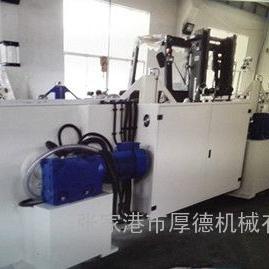 张家港市厚德机械9KK合金锋钢箔带异形丝多道次高速高精密冷轧机