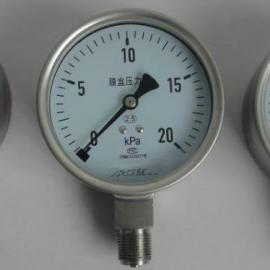 指针膜片压力表,电阻远传压力表现货