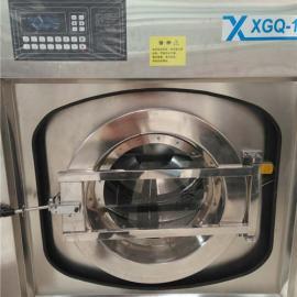宾馆床单洗涤设备 酒店变频全自动工业洗衣机价格