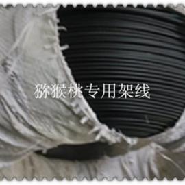 云南猕猴桃架线 包塑钢丝架线 果园专用钢丝架线
